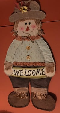 Fall Welcome Door/Wall hanging 566 mi