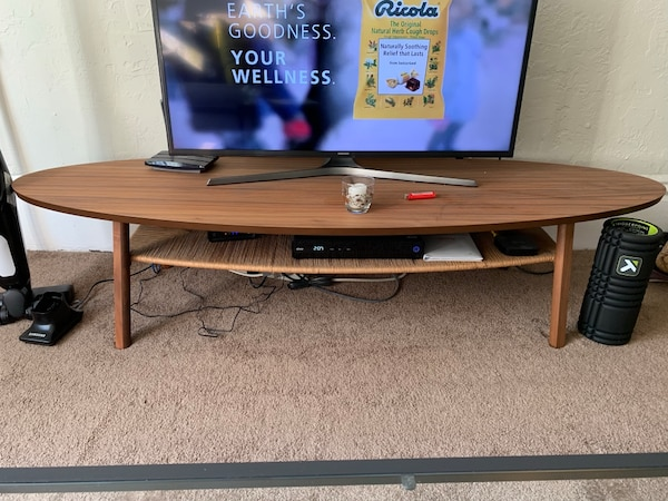 Used Ikea Coffee Table Tv Stand Stockholm For Sale In San