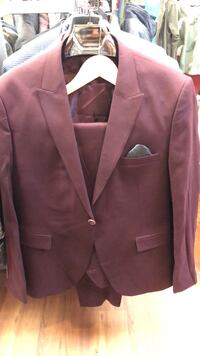 men's maroon formal suit jacket Calgary, T2B