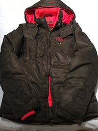 Small youth pepe jeans down filled ski jacket. Reg price was $225.00