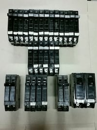 GE Type THQP Circuit Breakers 15-50 AMP Mississauga, L5L 3C3