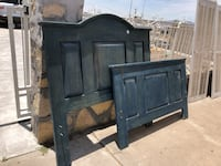 black wooden headboard and footboard El Paso, 79925