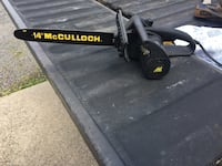 McCulloch electric chain saw Sykesville, 15865