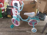 Tricycle and girls clothing