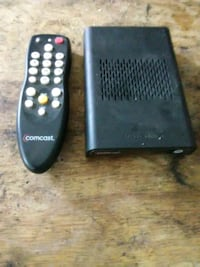 Comcast cable extension box with remote control Washington