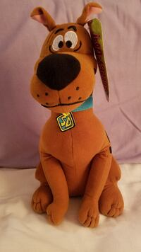 Scooby Doo Plush With Tags