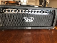 Koch Powertone 2 guitar amp cabinet head (no footswitch) amplifier