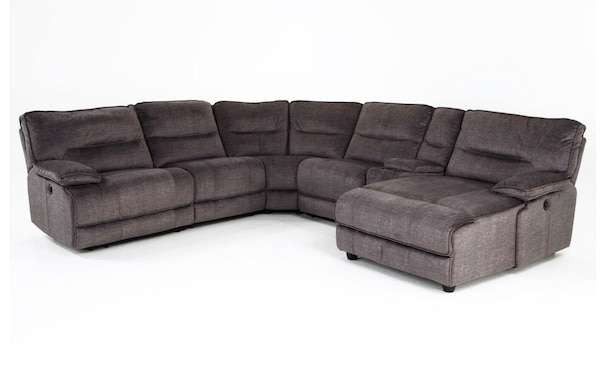XXL Reclining Chaise 6-piece sectional couch 0