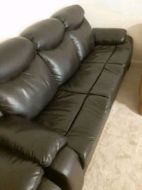 Leather sofa two piece Baltimore, 21207