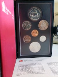 1979 Canada Mint Great Lakes Proof Set w/$1 50%Sil Calgary, T2R 0S8