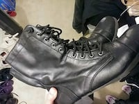 Leather boots. Size 10