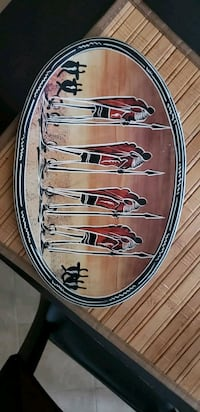 AFRICAN  DECOR PLATE