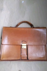 Swiss leathet briefcase