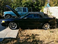 Ford Mustang GT4.6L convertible all black mi95000  Oakland, 94605