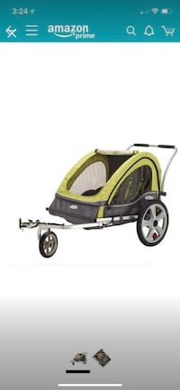 InStep double stroller for bicycle, Ashburn, 20147