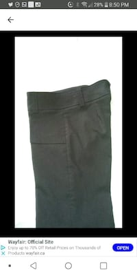 Woman new brown pants size 7