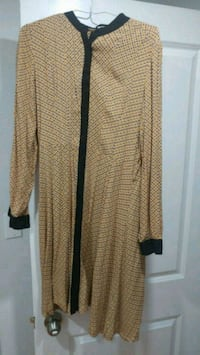 brown and black long sleeve dress Brampton, L6X 3Y7