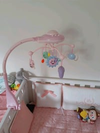 A vendre baby musical crib mobil bed bell toys Montreal