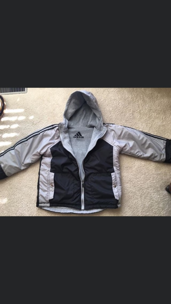 Photo Boys Adidas Jacket. Insulated