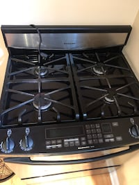 Gas Stove used !