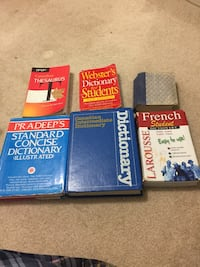 Dictionaries all for $10 Burnaby, V5H