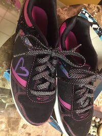 pair of black-and-pink Nike running shoes Concord, 94520