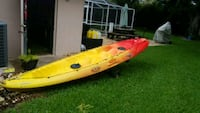 red and white kayak with paddle Spring Hill, 34608