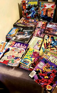 Comic books marvel and Dc