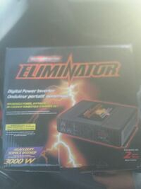 Eliminator 3000 watt digital power inverter Kitchener, N2E 1L6