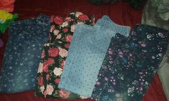 Girls Jean Leggings size 14-16 & 10-12