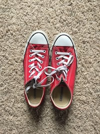 pair of red Converse All Star low-top sneakers Murfreesboro, 37129