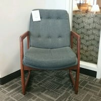 gray and brown wooden armchair Oakville, L6L 5N1