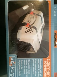 black and white pet cage 45 km