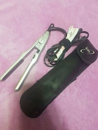 Travel size Ion hair straightener