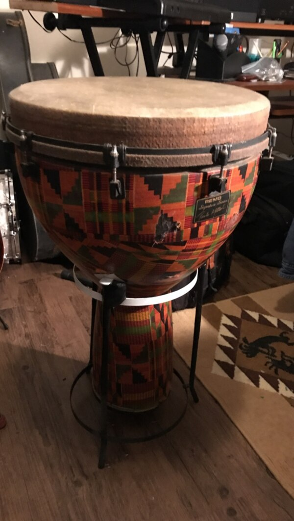 """18"""" Remo djembe Drum sounds great"""