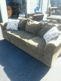 couch & chair , used and in good condition