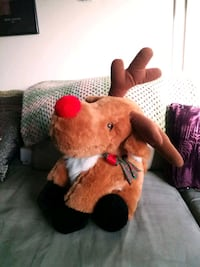 Plush Rudolph the Red Nosed Reindeer