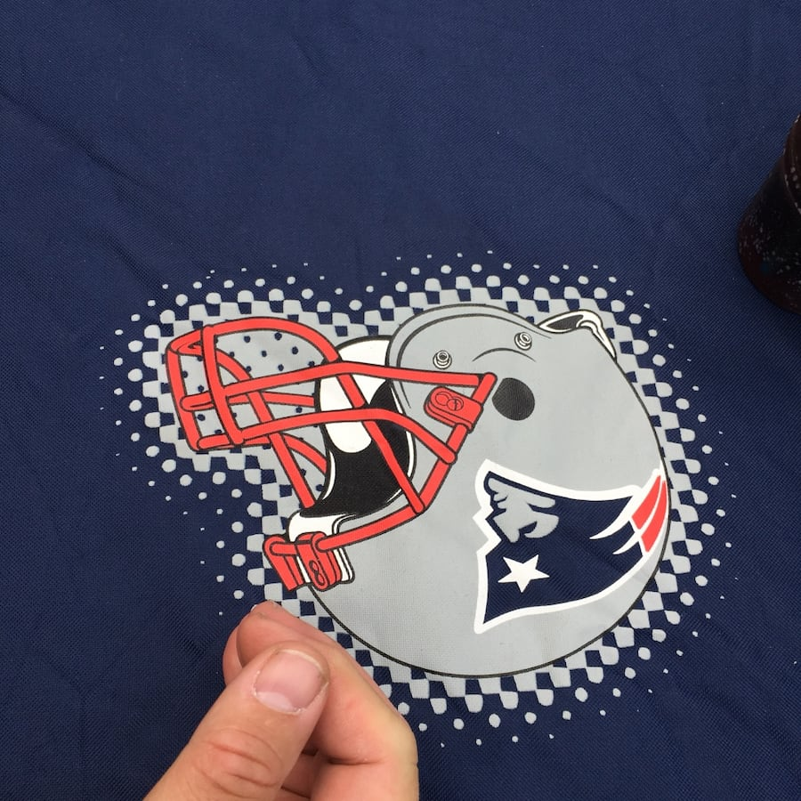 Patriots tailgate picnic table