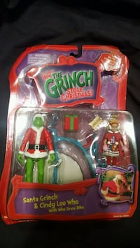 The Grinch Toys/Collectibles- Grinch & Cindy Lou Who Gettysburg, 17325
