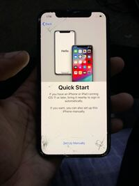 iPhone X Crack Front Screen  Temple Hills, 20748