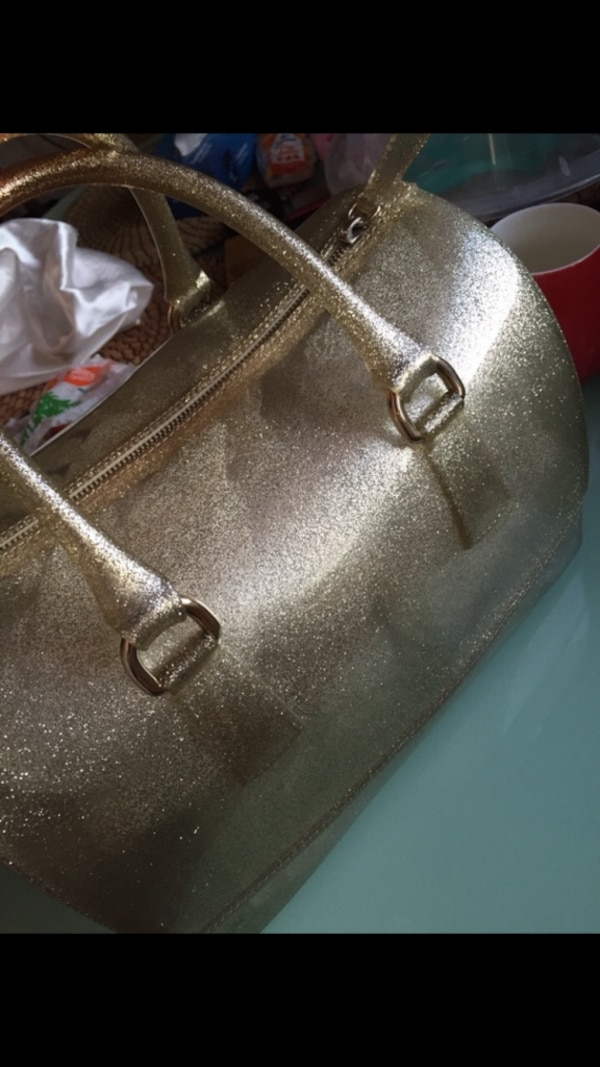 Furla candy bag gold