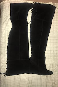 Thigh high boots size 11 Adelphi, 20783