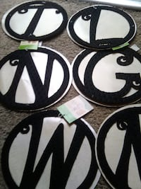 black letters brand new great for holidays and family 40 for all pieces over 30 letters retail is 495 each  2290 mi