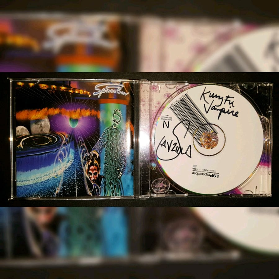 Kung Fu Vampire Autographed CD