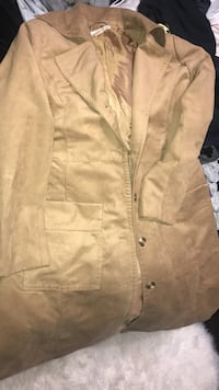 Size M-L H&M long brown coat  Abbotsford, V2T