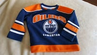 Like-New Edmonton Oilers 2T Toddler NHL Jersey.