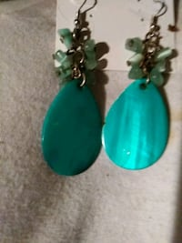 PRETTY TURQUOISE & SILVER EARRINGS Melbourne, 32934