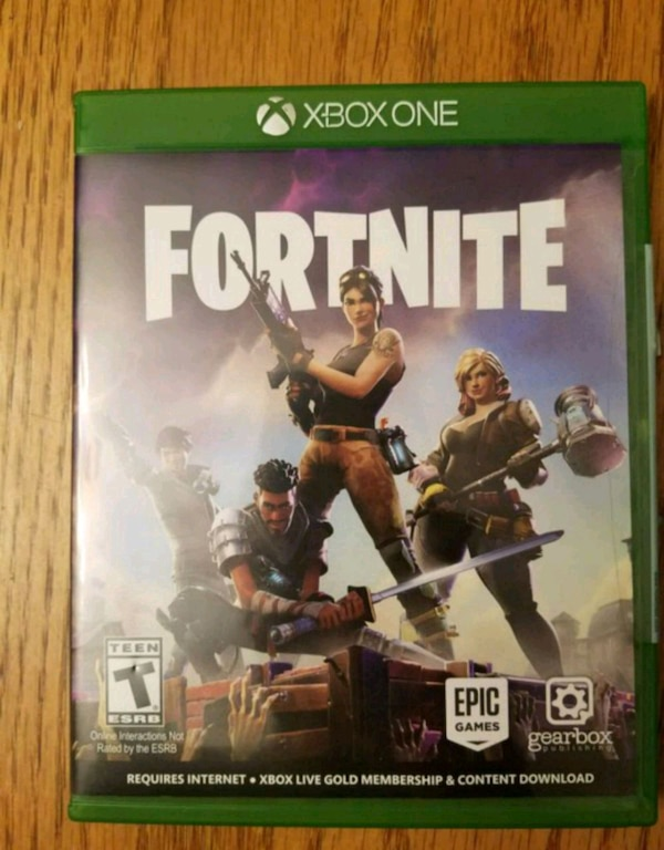 Used Fortnite Xbox One Disc For Sale In Vancouver Letgo
