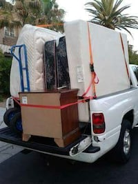 Delivery man with pickup truck. Fifty bucks!