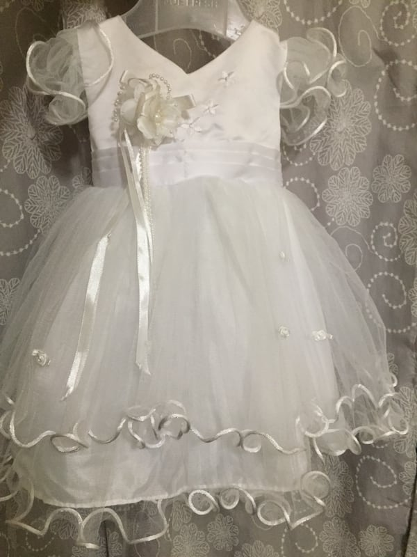 Baby white gown for christening 7af2006c-1421-4b99-93b3-3a94483f06da